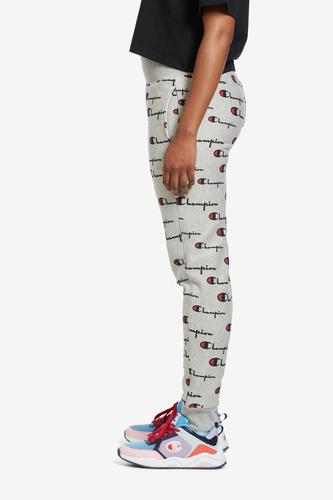 Left Side View of Champion Women's Life Reverse Weave Joggers, Allover Print