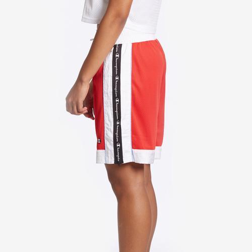 Left Side View of Champion Women's Mesh Short