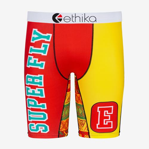 Front View of ETHIKA Men's Salted Boxer Brief