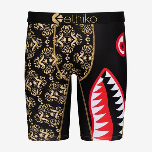 Front View of ETHIKA Men's Bomber Gatsby Boxer Brief