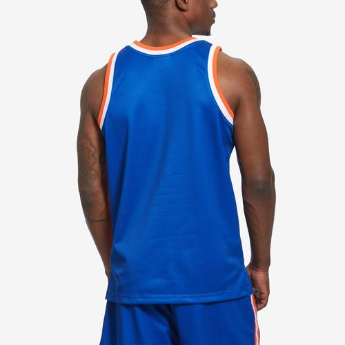 Mitchell + Ness Men's Big Face Jersey New York Knicks