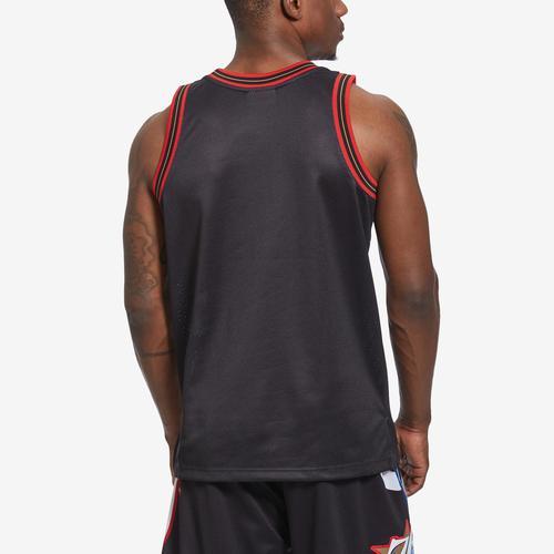 Mitchell + Ness Men's Big Face Jersey Philadelphia 76ers
