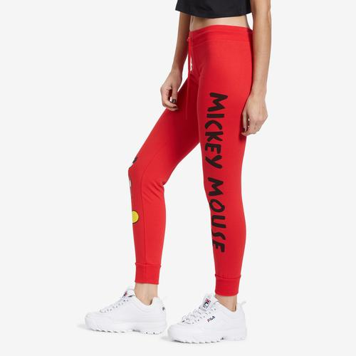 Right Side View of Freeze Women's Mickey Mouse Joggers