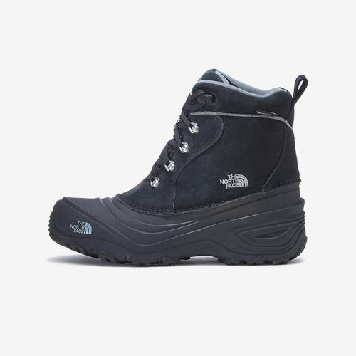 Left Side View of The North Face Boy's Grade School Chilkat Lace II Boot Sneakers