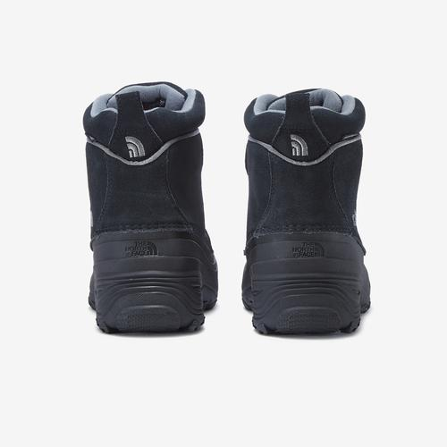 Back View of The North Face Boy's Grade School Chilkat Lace II Boot Sneakers