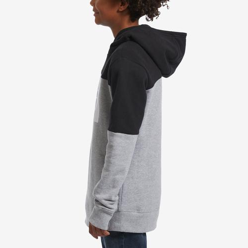 Left Side View of The North Face Boy's Toddler Metro Logo Pullover Hoodie