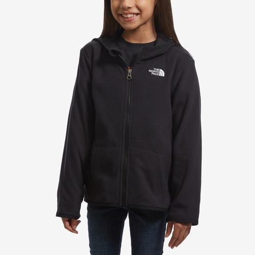 Front View of The North Face Boy's Toddler Glacier Full Zip Hoodie