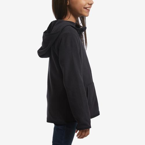 Right Side View of The North Face Boy's Toddler Glacier Full Zip Hoodie