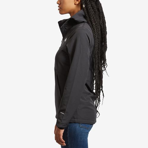Left Side View of The North Face Women's Shelbe Raschel Hoodie