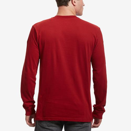The North Face Men's Long Sleeve Brand Proud Cotton Tee