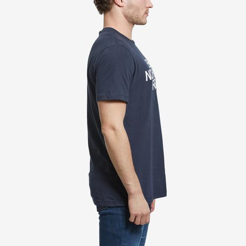 Left Side View of The North Face Men's Short Sleeve Half Dome Tee