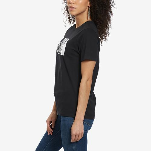Right Side View of The North Face Women's Short-Sleeve Half Dome Tee