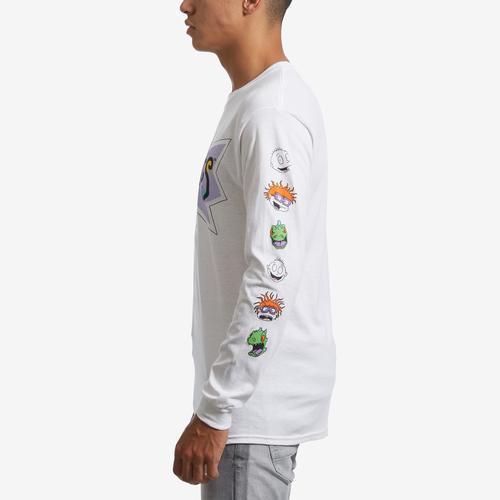Left Side View of Freeze Men's Long Sleeve Rugrats T-Shirt