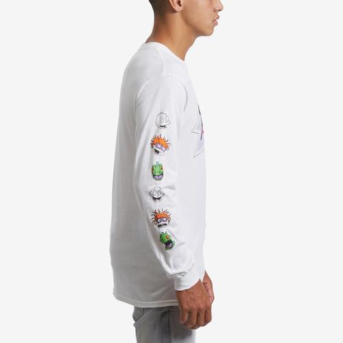 Right Side View of Freeze Men's Long Sleeve Rugrats T-Shirt