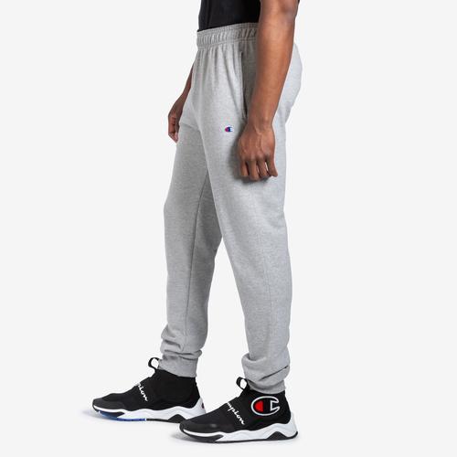 Left Side View of Champion Men's Powerblend Sweats Retro Jogger Pants