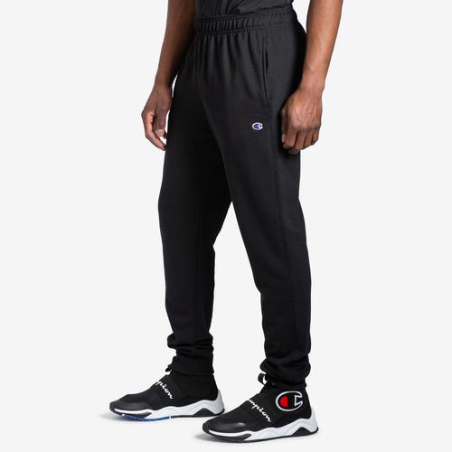 Front View of Champion Men's Powerblend Sweats Retro Jogger Pants