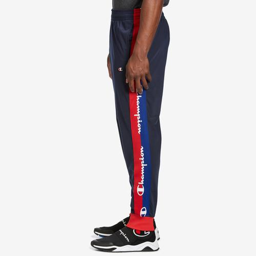 Left Side View of Champion Men's Life Track Pants