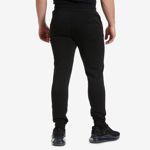 Back View of EBL by PJ Mark Men's Solid Fleece Jogger