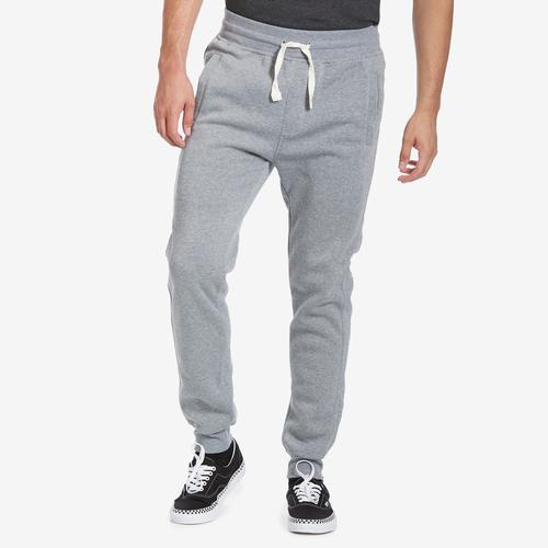 Front View of EBL by PJ Mark Men's Solid Fleece Jogger