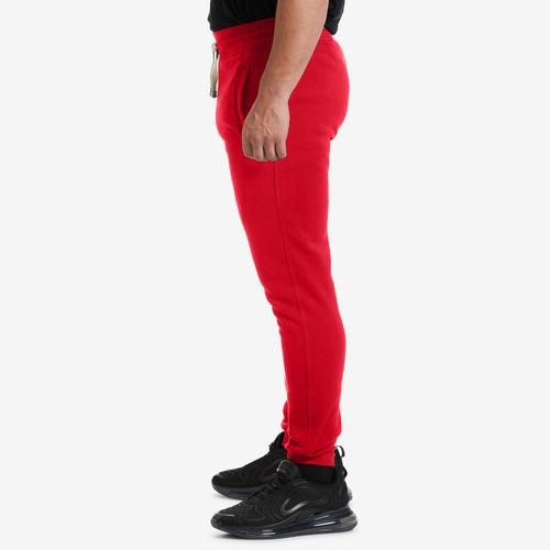 Left Side View of EBL by PJ Mark Men's Solid Fleece Jogger