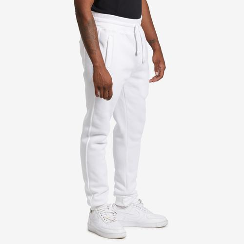 Right Side View of EBL by PJ Mark Men's Solid Fleece Jogger