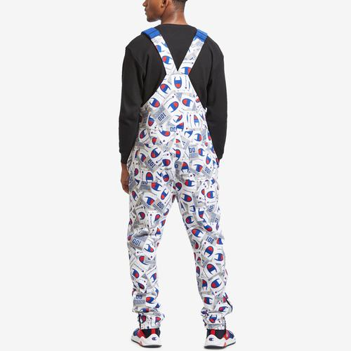 Champion Men's Super Fleece Overalls