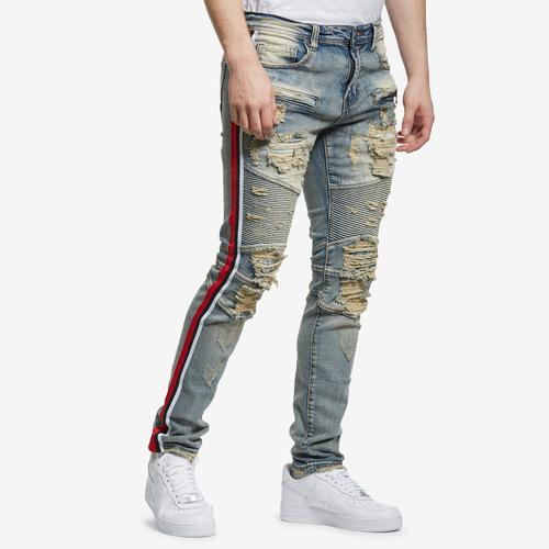 Preme Men's Red Tape Biker Jeans