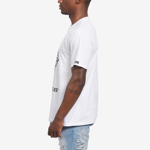 Left Side View of Crooks & Castles Men's Two Face Tee