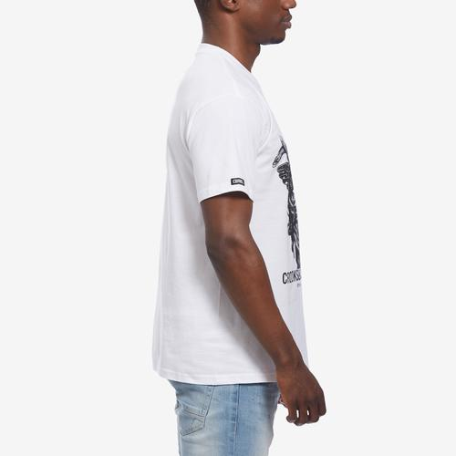 Right Side View of Crooks & Castles Men's Two Face Tee