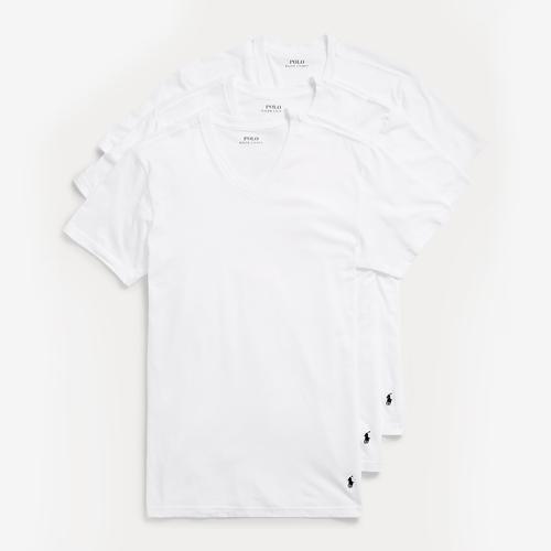 Polo Ralph Lauren Men's Classic Fit V-Neck 3-Pack
