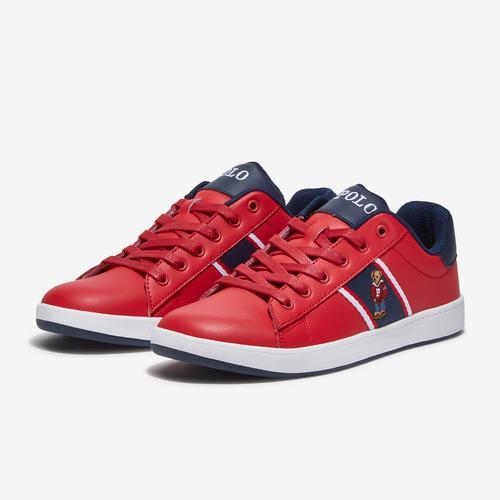Polo Ralph Lauren Boy's Gradeschool Quilton Bear Sneaker
