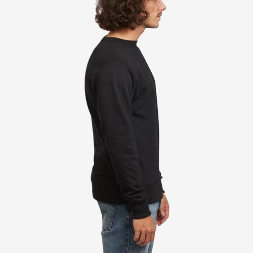 Right Side View of Champion Men's Powerblend Sweats Pullover Crew