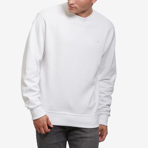 Front View of Champion Men's Powerblend Sweats Pullover Crew