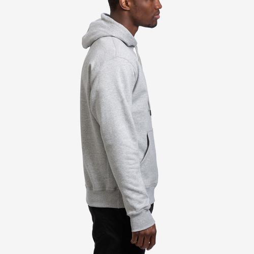 Right Side View of Champion Men's Powerblend Sweats Pullover Hoodie