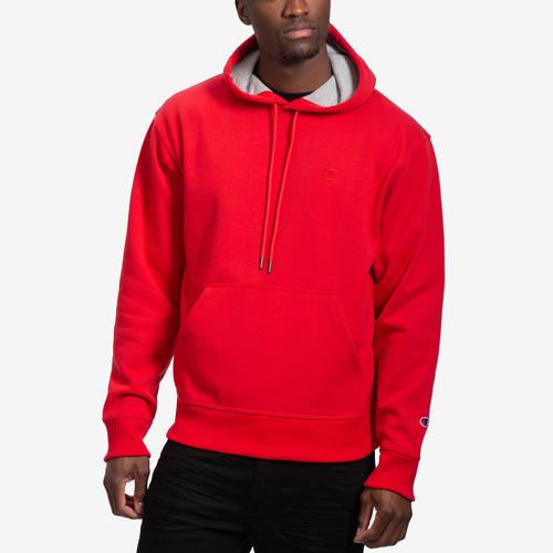 Front View of Champion Men's Powerblend Sweats Pullover Hoodie