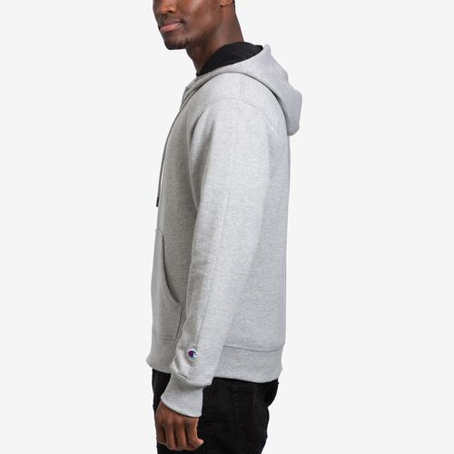 Left Side View of Champion Men's Powerblend Sweats Full Zip Jacket