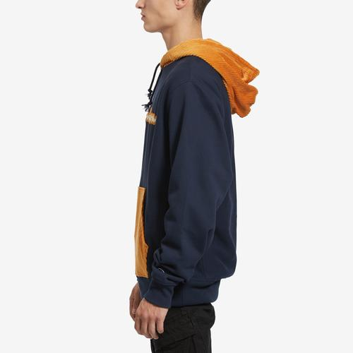 Left Side View of Champion Men's Life Reverse Weave & Corduroy Hoodie
