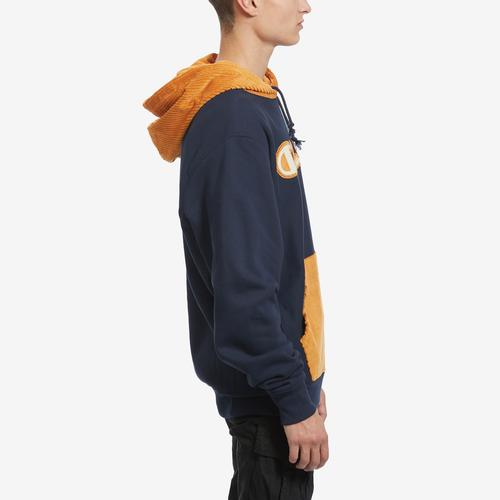 Right Side View of Champion Men's Life Reverse Weave & Corduroy Hoodie