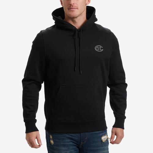 Front View of Champion Men's Life Super Hood 2.0 Pullover Hoodie