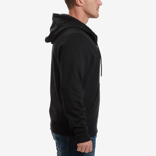 Right Side View of Champion Men's Super Fleece 2.0 Full Zip Hoodie