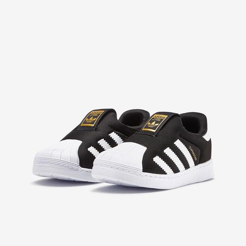 Side Angle View of adidas Boy's Toddler Superstar 360 I Sneakers