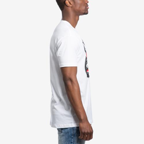 Right Side View of Baws Men's Scar Baws T-Shirt