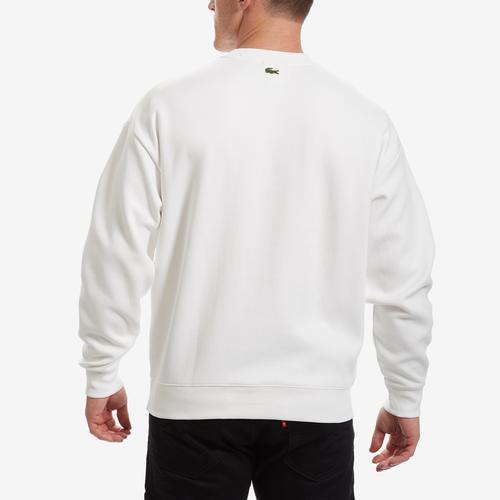 Lacoste Men's Unisex LIVE Signature Texturized Fleece Sweatshirt