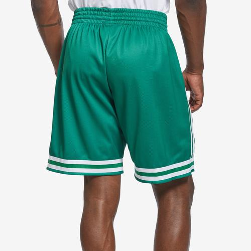 Mitchell + Ness Men's Big Face Shorts Boston Celtics