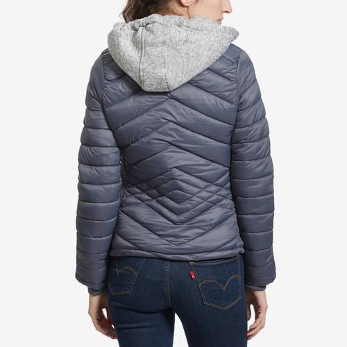 YMI Junior's Puffer Jacket With Hood