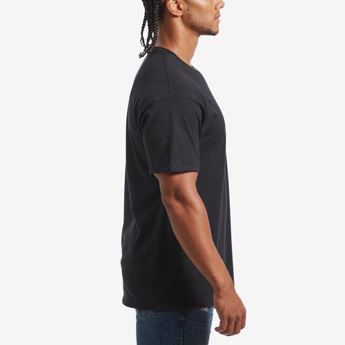 Right Side View of Champion Men's Classic Jersey V-Neck