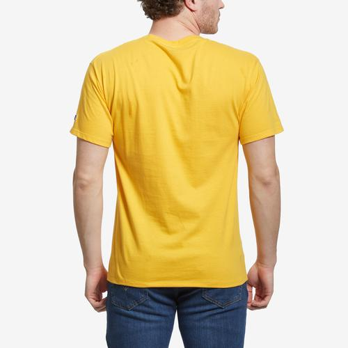 Back View of Champion Men's Classic Jersey Tee