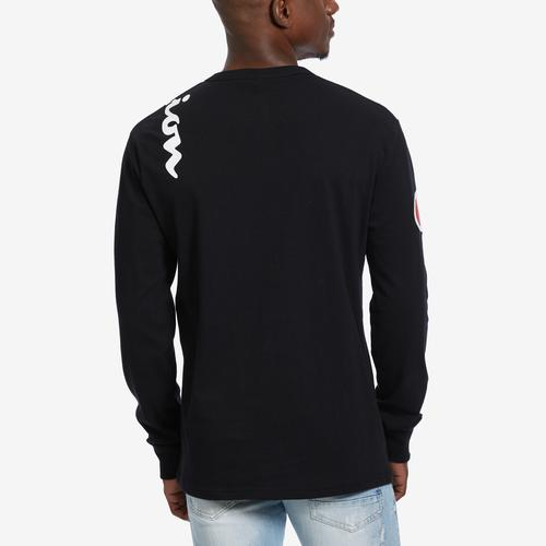 Champion Men's Life Long-Sleeve Tee, Script Logo
