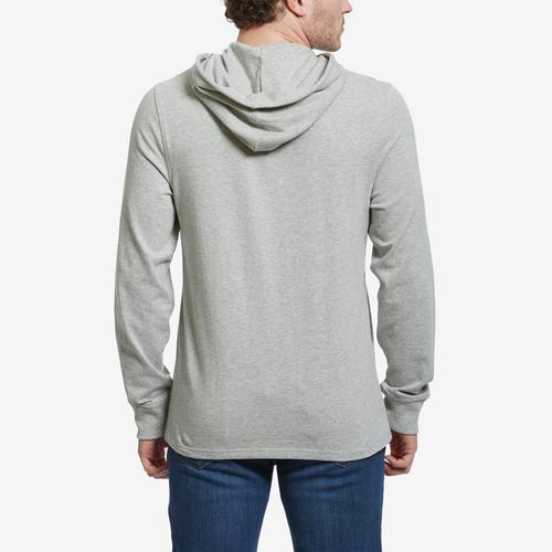 Back View of Champion Men's Middleweight Hoodie