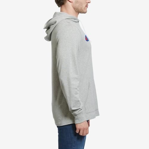Left Side View of Champion Men's Middleweight Hoodie